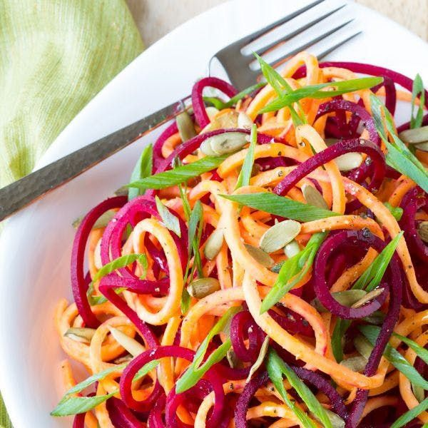 15 Crazy-Colorful Spiralized Salad Recipes for Summer