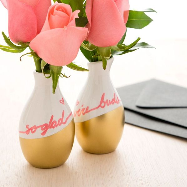 So Glad We're Buds! How to Make Bud Vases for Your Valentines
