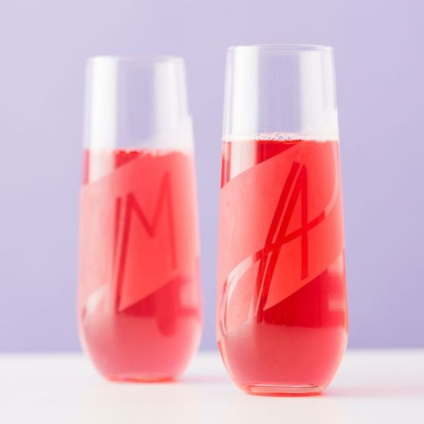 How to Make Etched Glass Whiskey Tumblers and Champagne Flutes