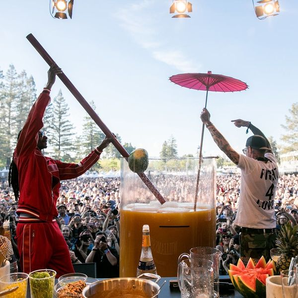 The 20 Craziest Shenanigans from the 2018 Williams Sonoma Culinary Stage at BottleRock