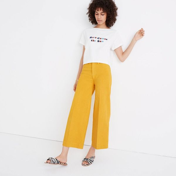 12 Ways to Try the Wide-Leg Pant Trend
