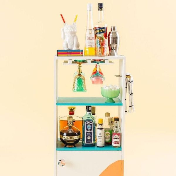 How to Transform Your Old Dresser Into a Bar Cart