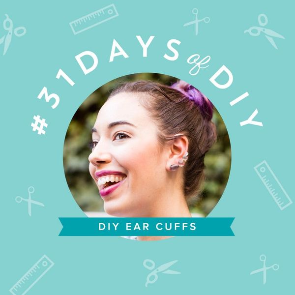 DIY These Glam Ear Cuffs Pronto