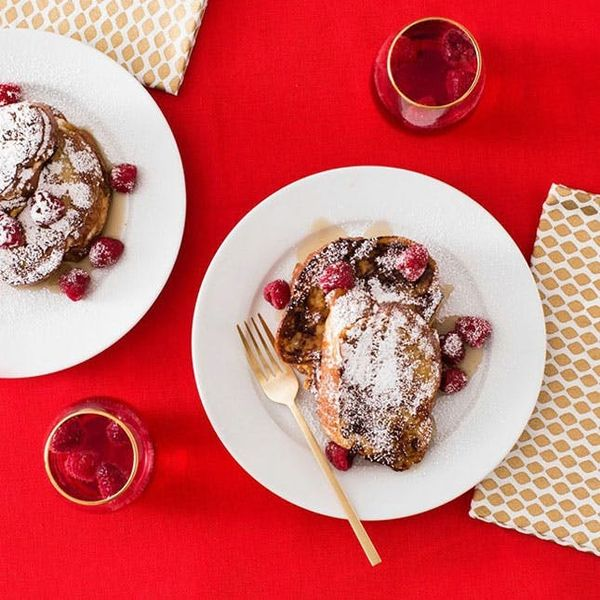 V-Day Breakfast for Two! How to Make Stuffed French Toast