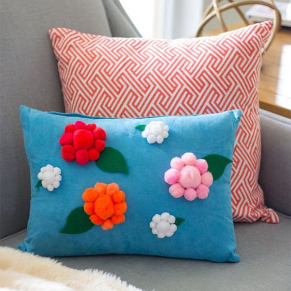 Flamingos, Llama Vases, Flower Pillows, and More Weekend Craft Projects