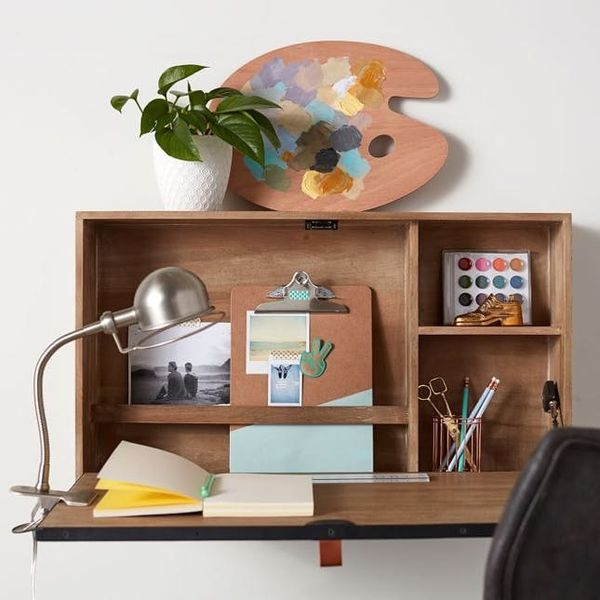 Wall-Mounted Furniture Is the Stylish Space Saver You Need in Your Life