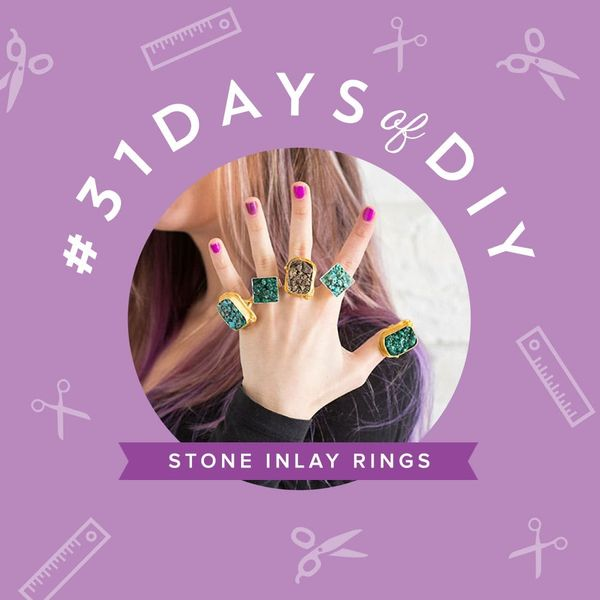 How to Create a Stone Inlay Statement Ring