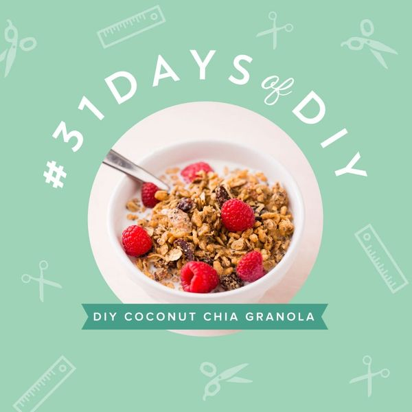 Power Up With Coconut Almond Chia Granola