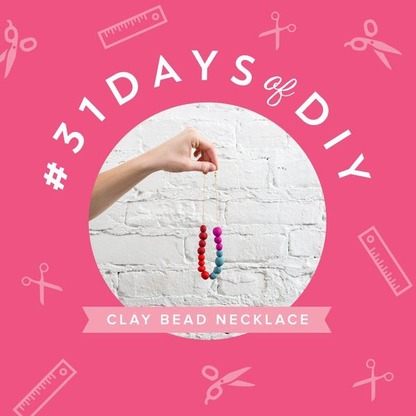 Nostalgia FTW: Make a Clay Bead Statement Necklace