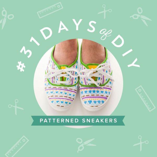Create Custom Patterned Sneakers in Under 10 Minutes