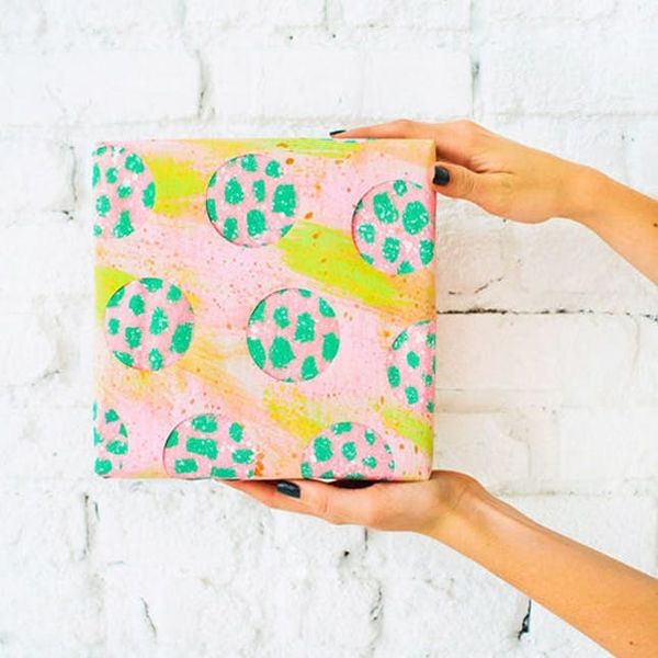 Genius Gift Wrap Ideas from DesignLoveFest, Oh Happy Day and Oh Joy!