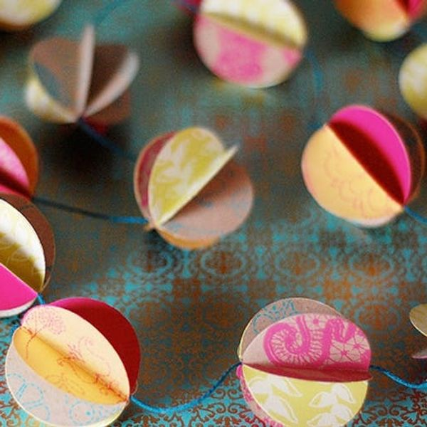 Buy or DIY? 10 Pretty Pieces of Paper Decor