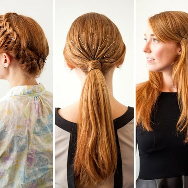 3 New Ways to Add Bobby Pins to Your 'Do