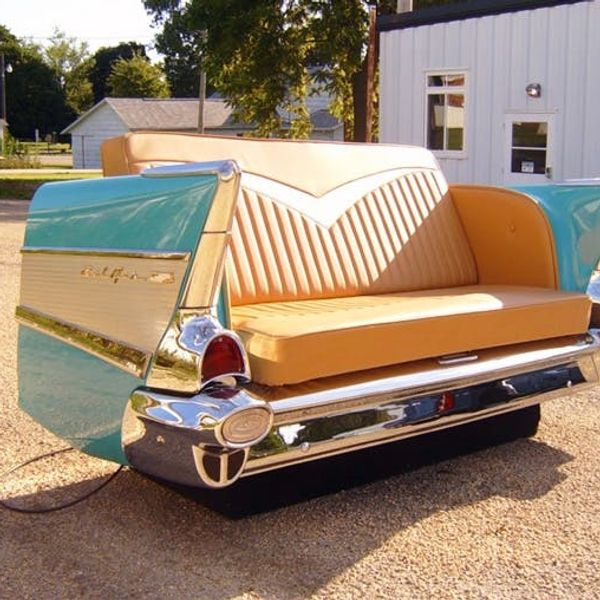 17 Quirky Couches Made from Repurposed Materials