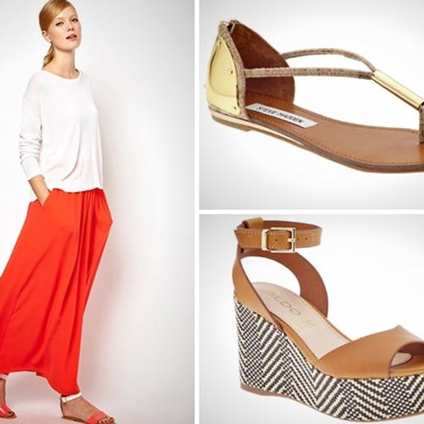 Go to Great Heights, or Stick with Flats? How to Pair Skirts and Shoes