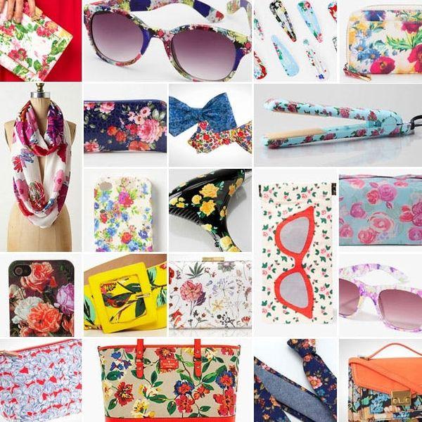 20 Fresh Floral Accessories
