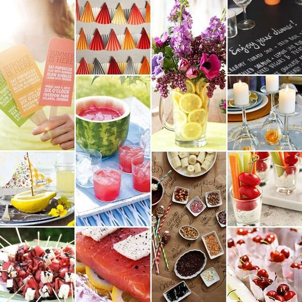 As Seen on the Today Show: A Summer Party Inspired by Pinterest