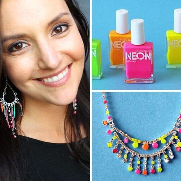 How to Make Neon Gemstone Jewelry