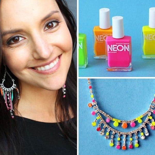 How to Make Neon Gemstone Jewelry