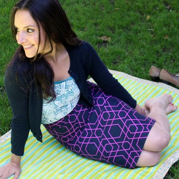 Make Your Own Fold-Up Picnic Blanket!