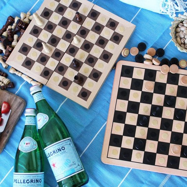 Checkmate! An Easy Way to Make Full-Size Travel Games