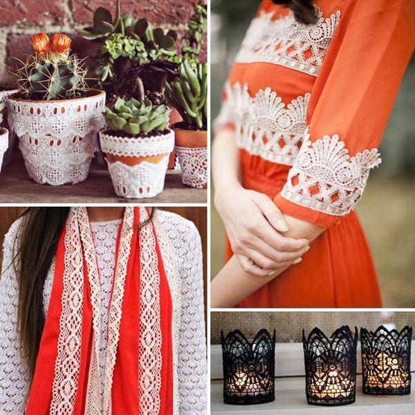 30 Lovely DIY Lace Projects