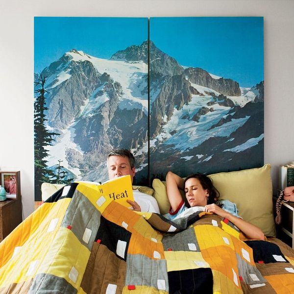 Hit the Snooze Button with 20 DIY Headboards