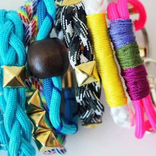 5 Ways to Make Trendy Rope Bracelets