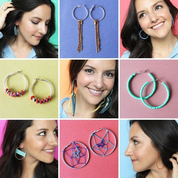 9 Ways to Hack Your Hoop Earrings