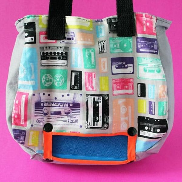 Presenting the No-Sew Jambox Tote Bag