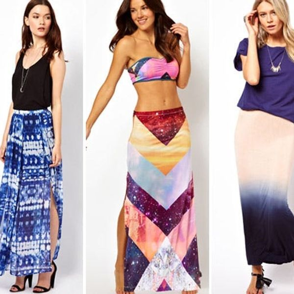 30 Maxi Skirts That Won't Max Out Your Wallet