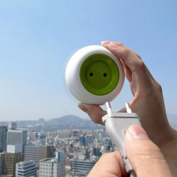 Now You Can Plug Things Into Your Window?!