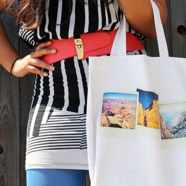 How to Make Snappy Photo Totes