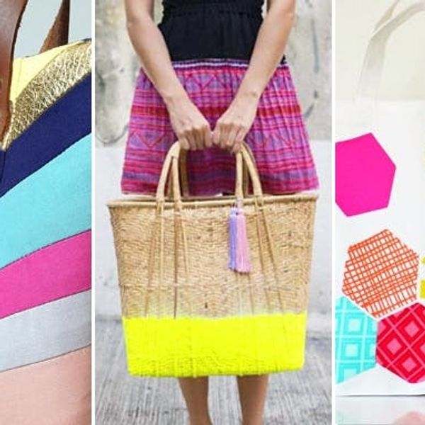 We Totes Rounded Up 40 Awesome DIY Totes!