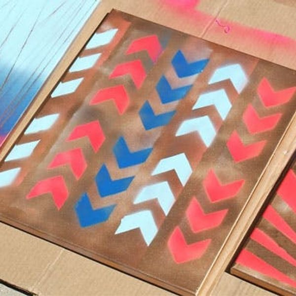 Home Is Where the Art Is: 4 Simple Ways to Make Spray Paint Wall Art