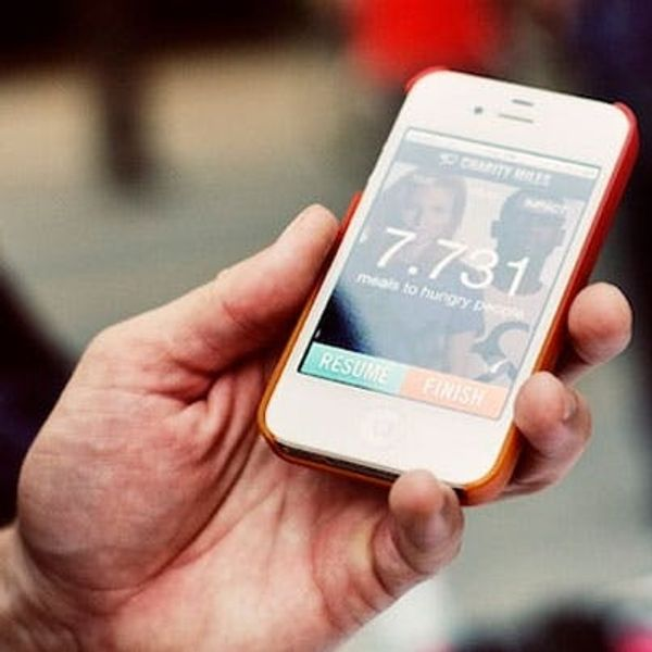 Charity Miles Lets You Earn Money for Charity by Going for a Run