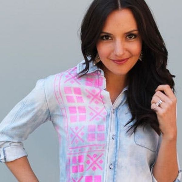 Tie It Up! 3 Easy Ways to Dye Chambray Shirts
