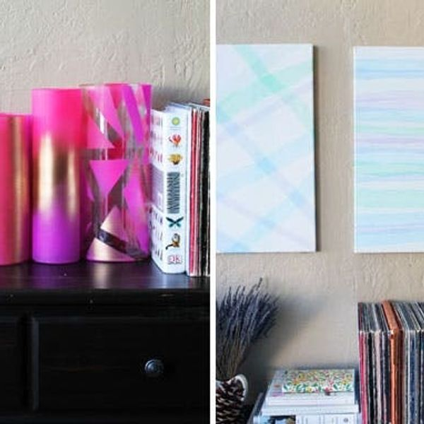 Tulle Time: How to Use Tulle to Make Gorgeous Vases and Wall Art