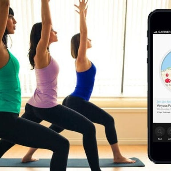 Meet Om Finder, An App to Help You Do More Yoga