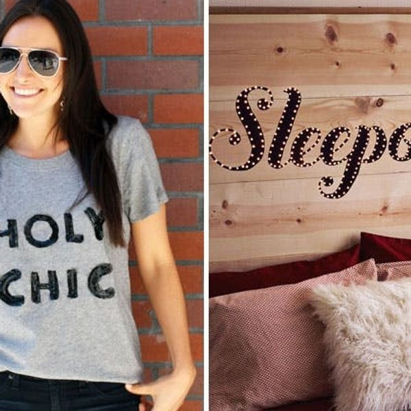 More Than Words: 20 Ways to Create Your Own Beautiful Typographic Decor