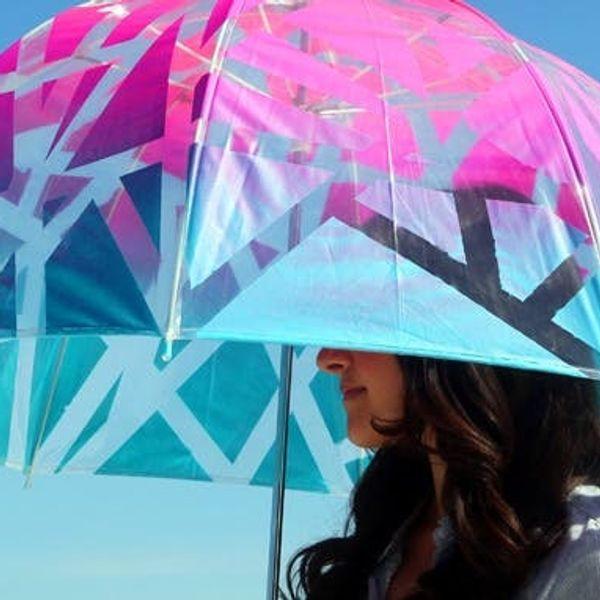 "Introducing the Ombre Umbrella (AKA the ""Ombrella"")"