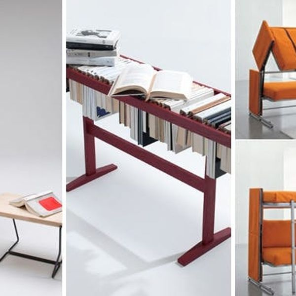 Small Space Solutions: 7 Cool Pieces of Convertible Furniture