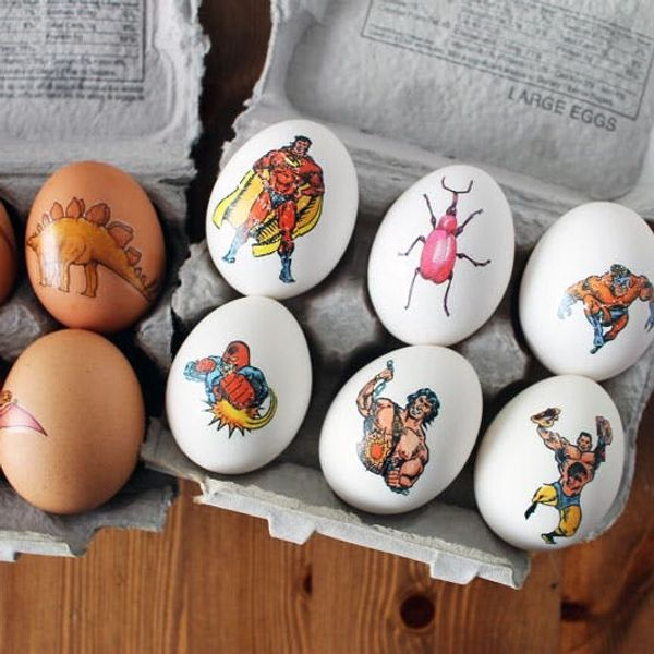 Get Inked! How to Tattoo Your Easter Eggs