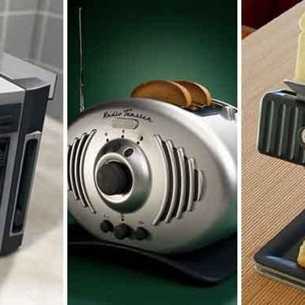 The Future Home: 5 Toasters Straight From the Jetsons