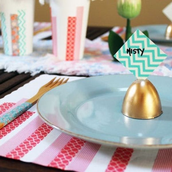 Washi Your Table: 4 Quick Projects for Sunday Brunch