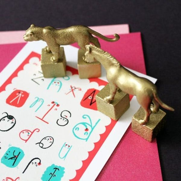 Go for the Gold! 9 Things You Can Make with Gold Animal Toys