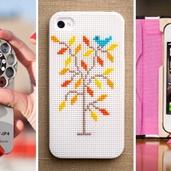 10 iPhone Cases for Makers, Crafters + DIYers