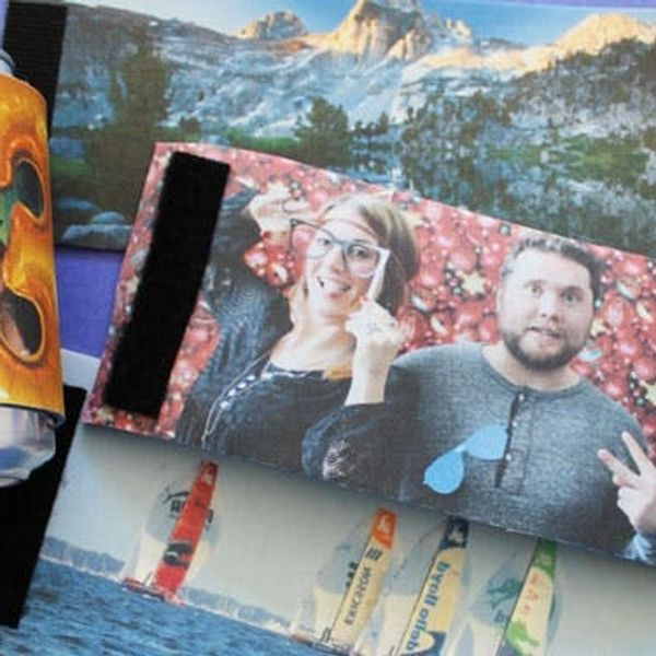 How to Turn Photos into Beverage Cozies