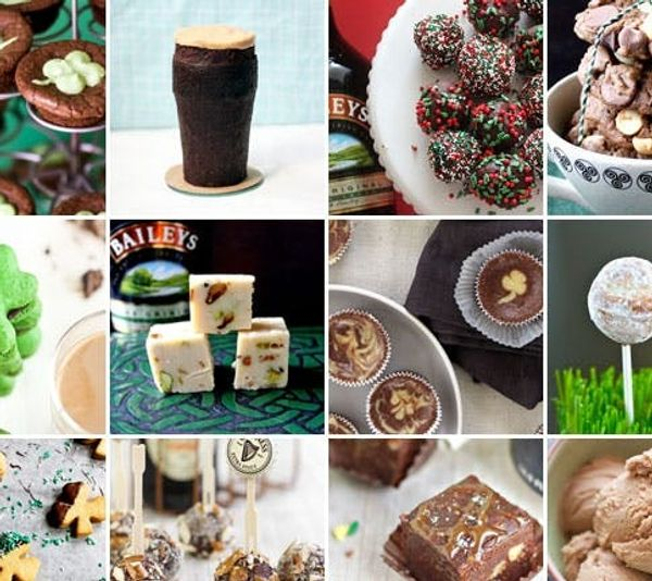 st patrick day dessert recipes with baileys and guinness