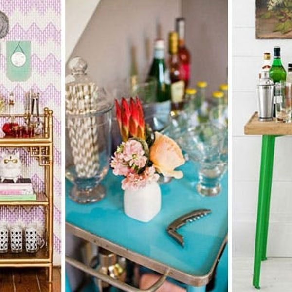 12 Ways to Create a Beautiful Bar at Home